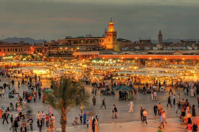 morocco-tourisme marrakech jamaa el fna