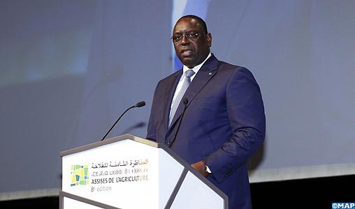 Allocution-du-président-sénégalais-Maky-Sall-8ème-assises-de-lagriculture_M