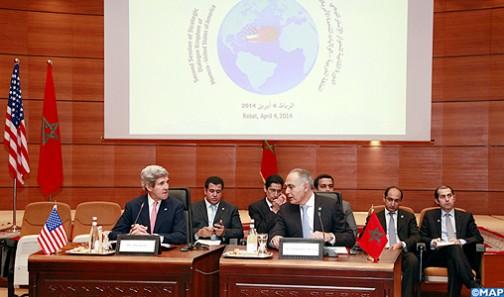 Morocco USA strategic dialogue to be held Thursday in Washington