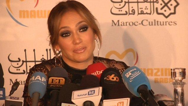 Jennifer Lopez Opened 14 Edition of  Mawazine festival