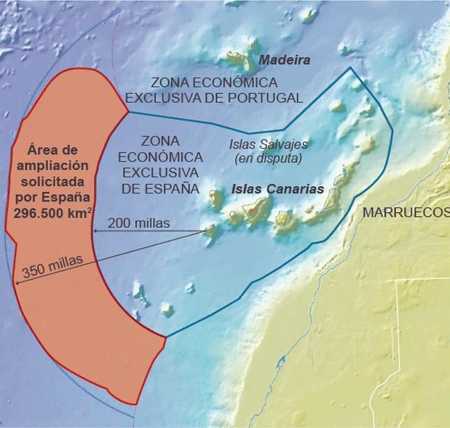 Maritime Border Dispute Between Morocco and Spain