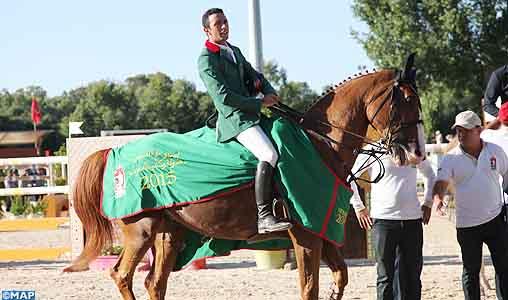 Ali Al Ahrach Won Showjumping Grand Prix King Mohammed VI