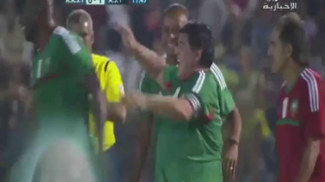 Maradona Goal In Gala Match Morocco 2015