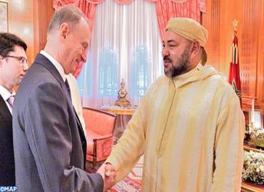 Morocco King Receives in Casablanca Russian Security Council Secretary