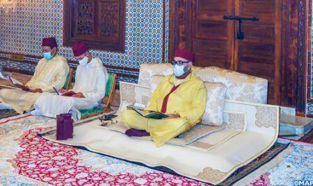 Morocco King Celebrates Religious Ceremony in Commemoration of Eid Al-Mawlid Annabawi Asharif