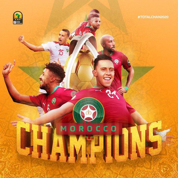 Morocco retain CHAN title after thrashing Mali 2-0